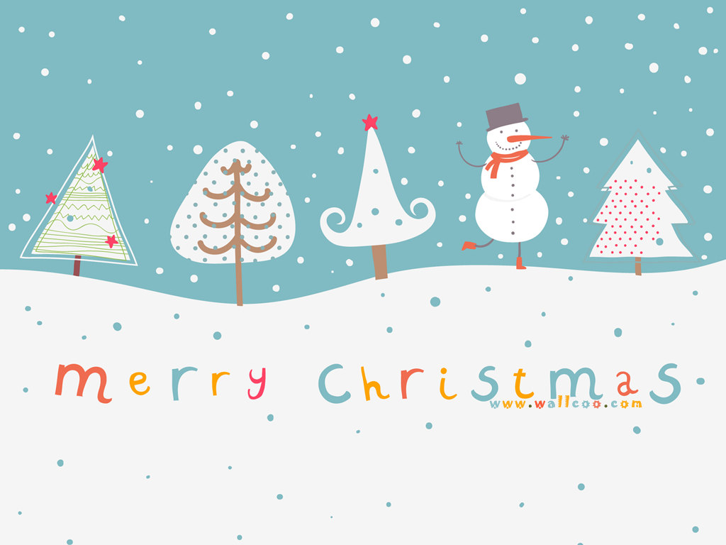 Christmas illustrations and Christmas Design 1024x768 1024x768