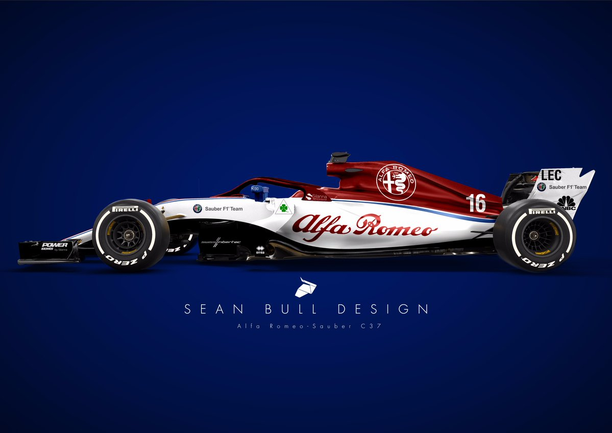 Wallpaper Sauber C37 Alfa Romeo F1 2018 Formula 1 F1: Alfa Romeo Sauber C37 Wallpapers