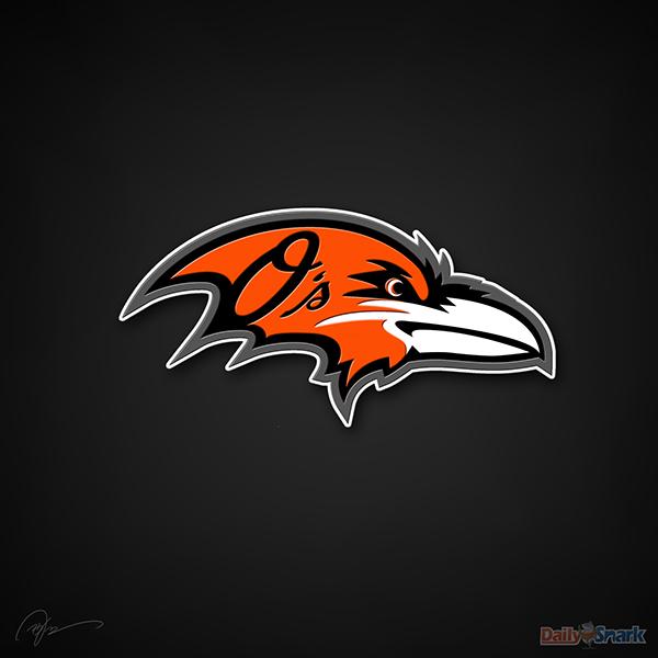 Baltimore Ravens X Baltimore Orioles 600x600