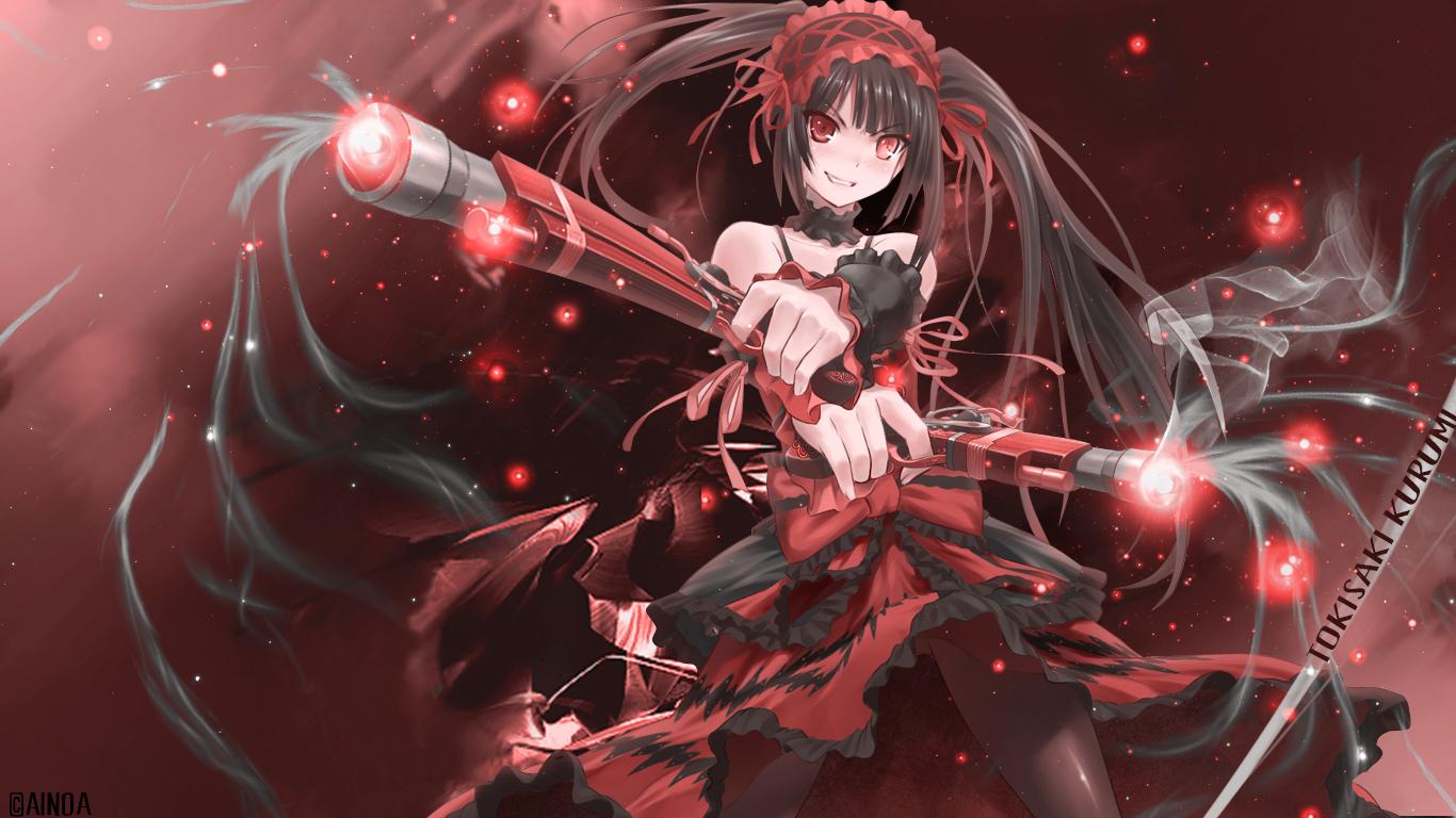 Anime Wallpaper] Date A Live 1366x768 Portafolio de Noa 1366x768