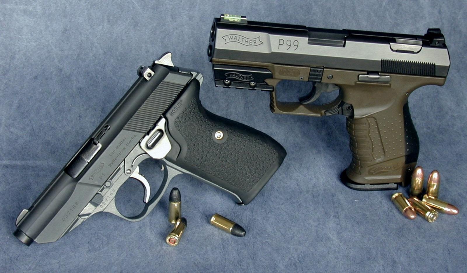 Walther P 99 AS HD Gun Wallpapers Desktop Wallpapers 1600x938