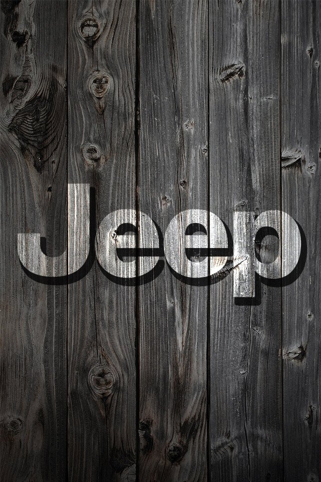 Iphone Jeep Logo Background