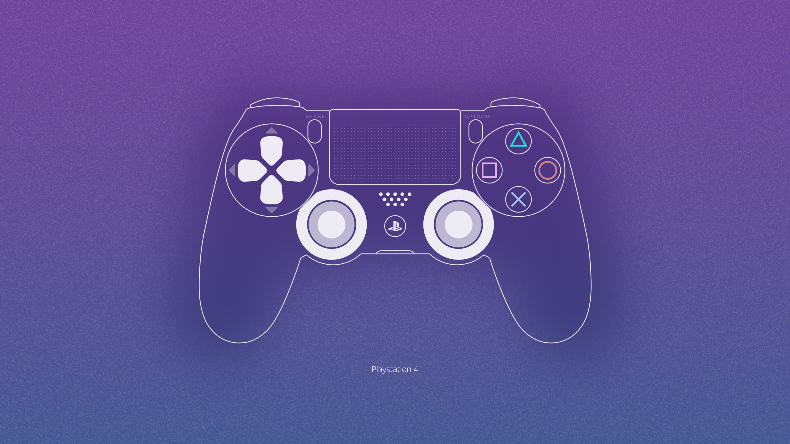 Playstation 4 Wallpaper by ljdesigner 2560x1440