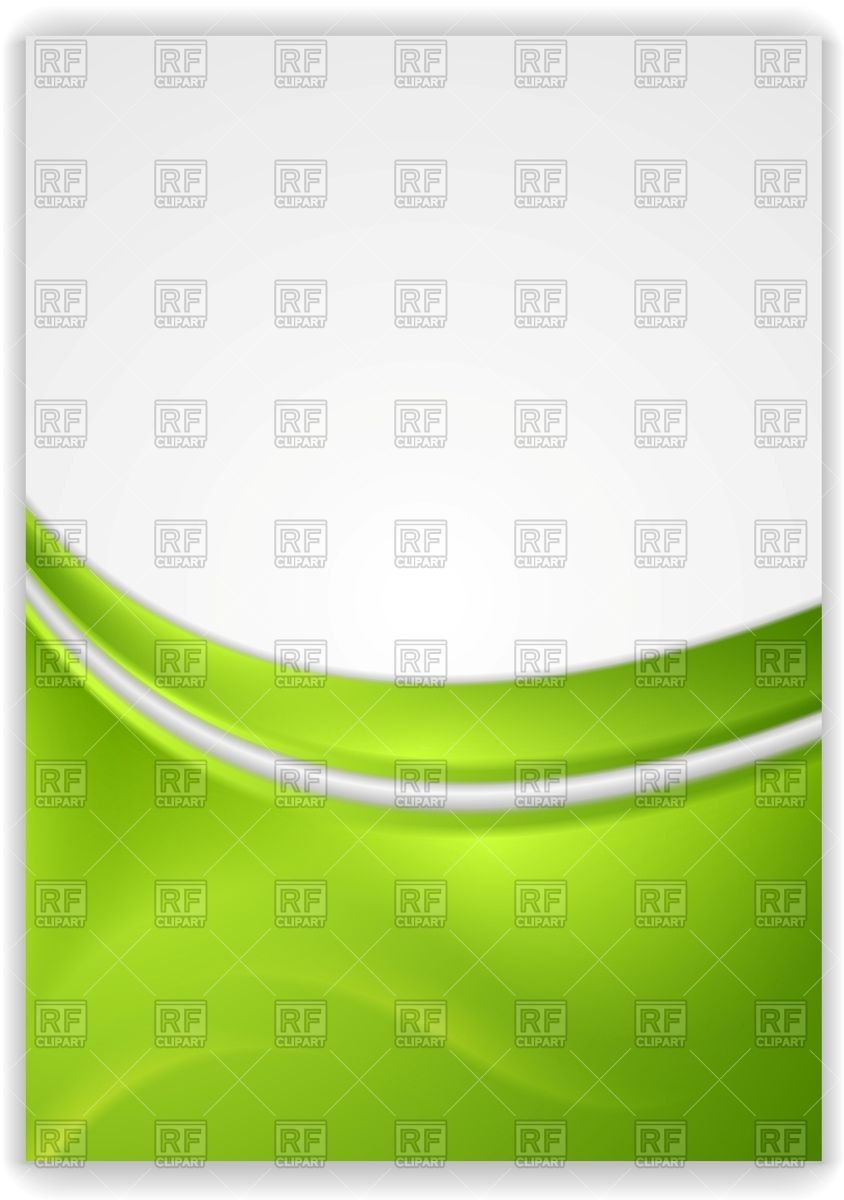 Abstract green wavy background   flyer template 50555 Backgrounds 844x1200