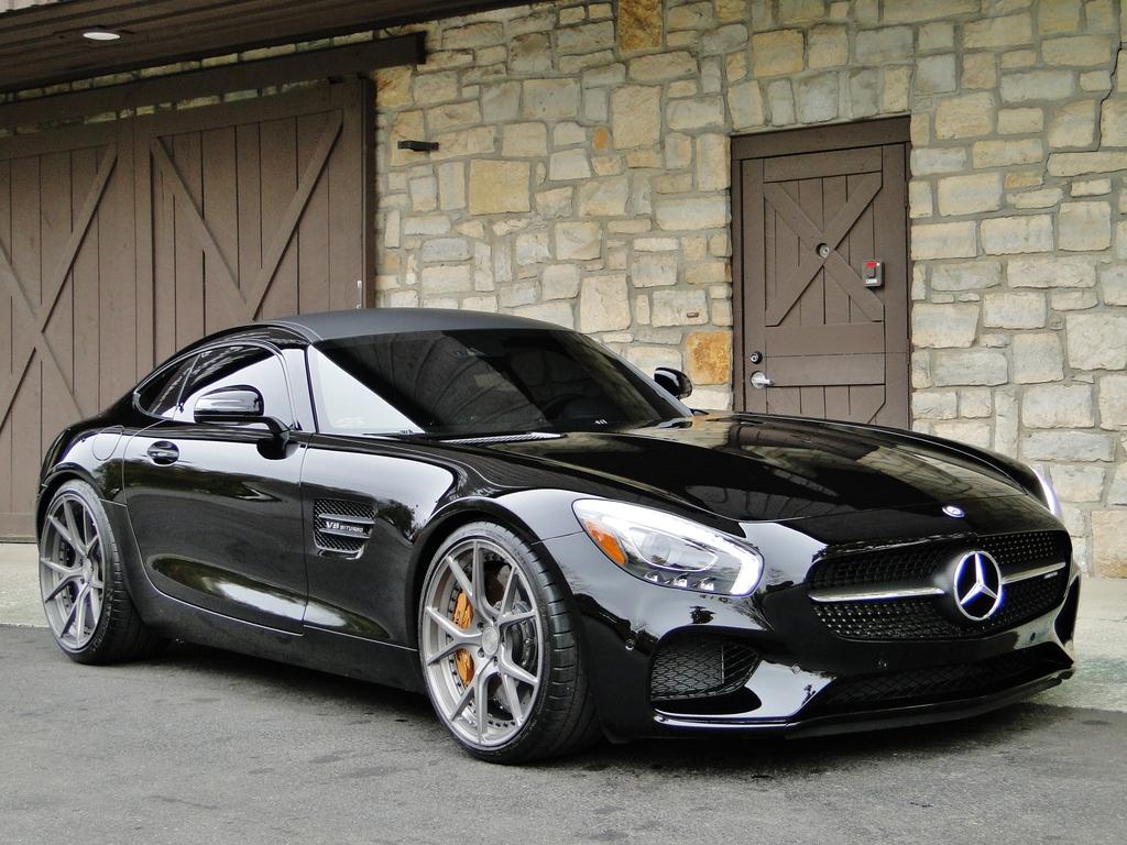 Mercedes Benz AMG GTS on Velos Wheels BENZTUNING 1024x768