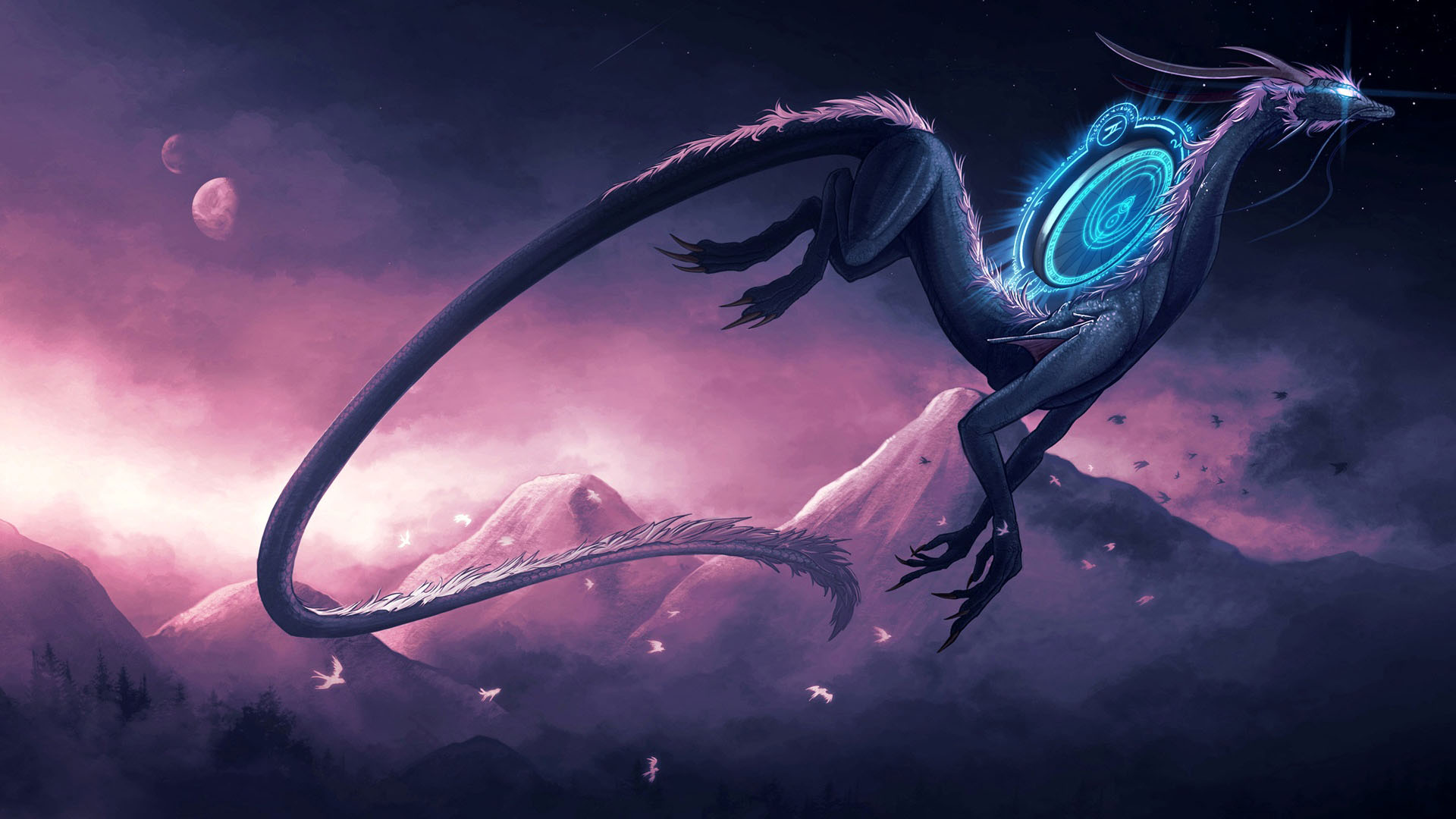 Download Dragon Backgrounds 1920x1080