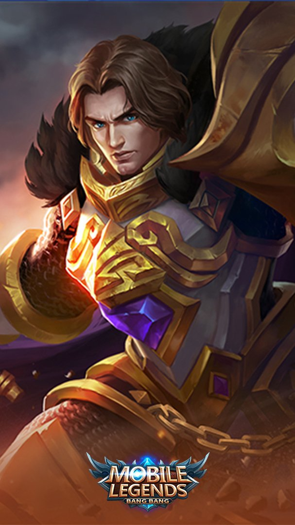 Tigreal Mobile Legends Wallpapers 607x1080