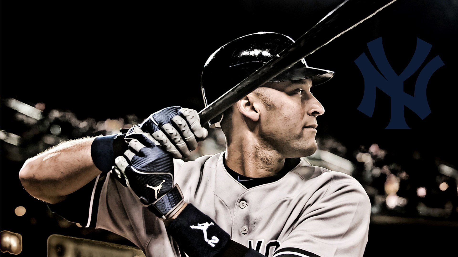 Derek Jeter Browser Themes Wallpaper Salute the Captain 1920x1080