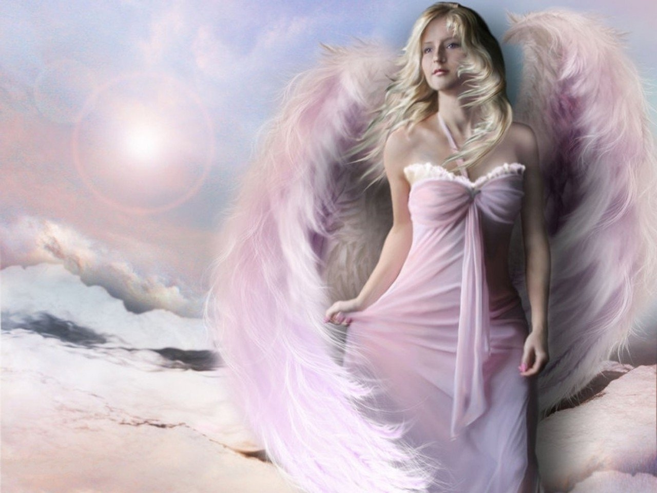 Angel Wallpaper Download Download Wallpaper DaWallpaperz 1280x960
