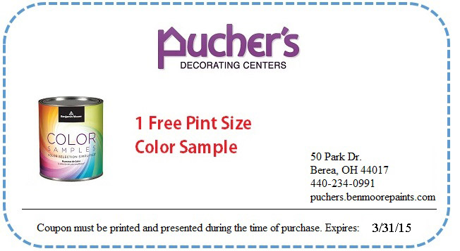 Puchers Decorating Centers is offering a FREE pint size sample of 652x357