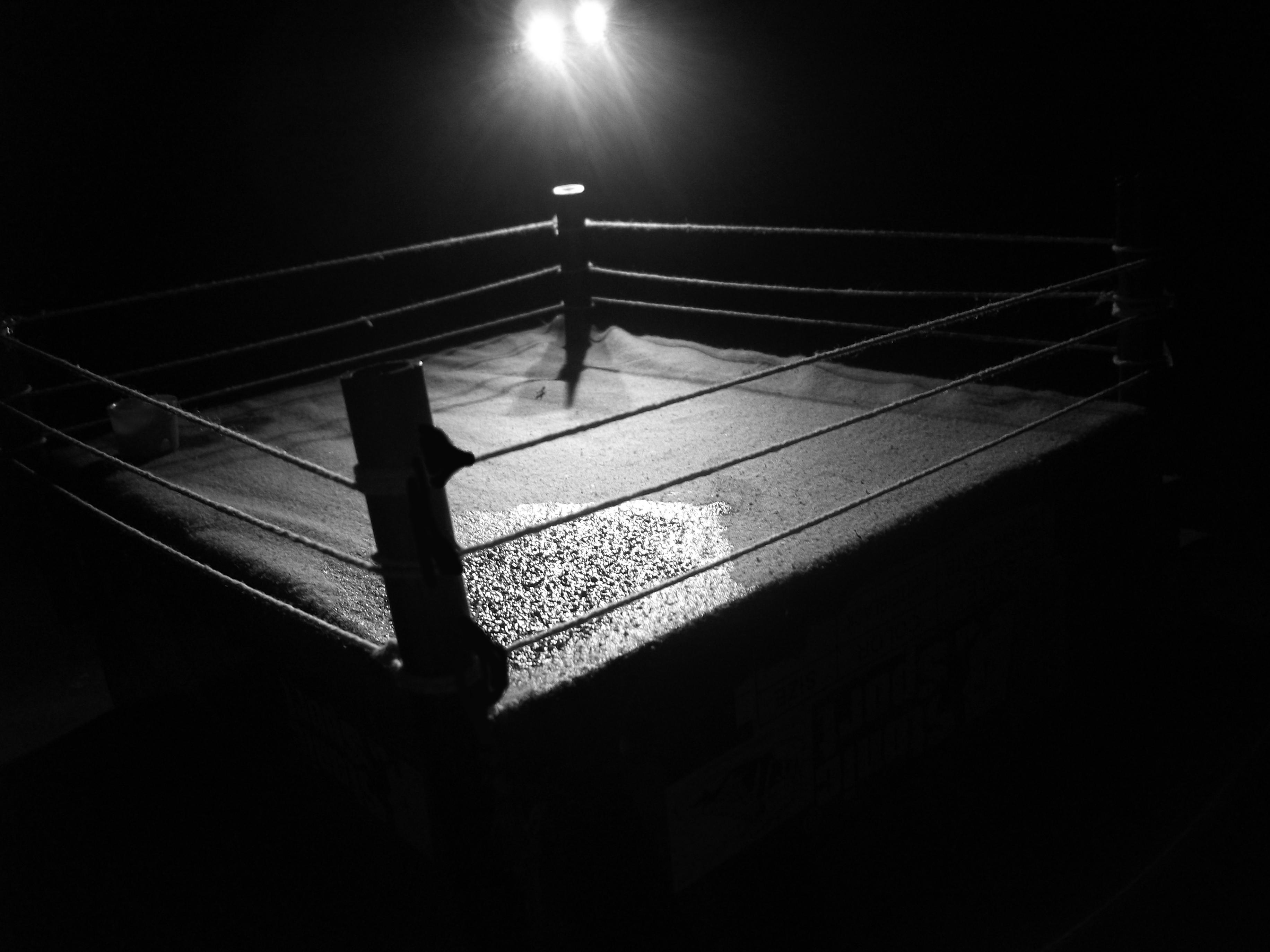 Wrestling ring background