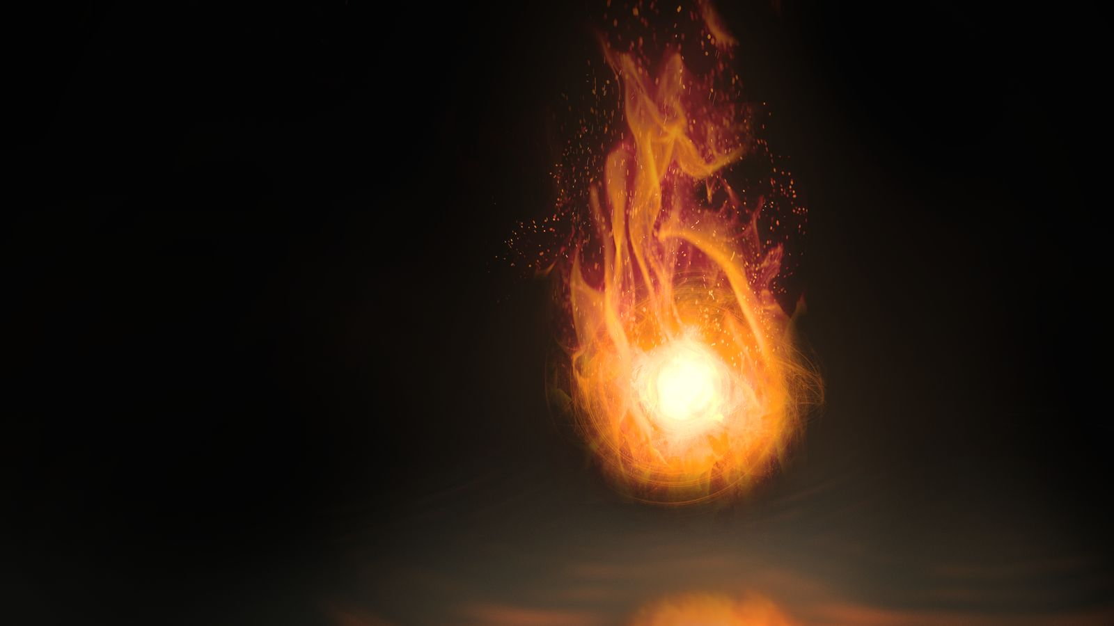 Fireball Wallpaper 2 by Dr3aMox 1600x900