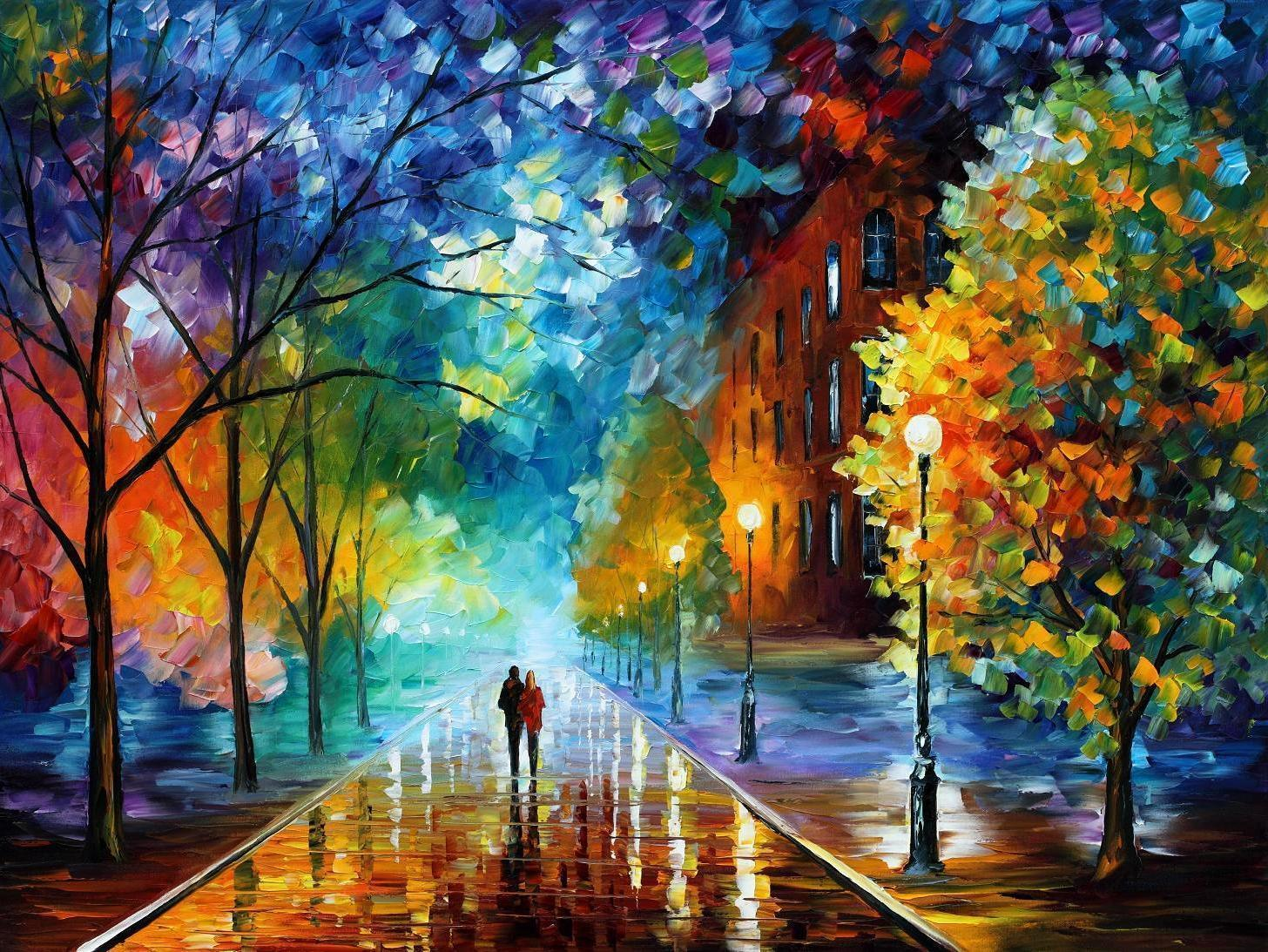 Leonid Afremov Wallpapers 1456x1093