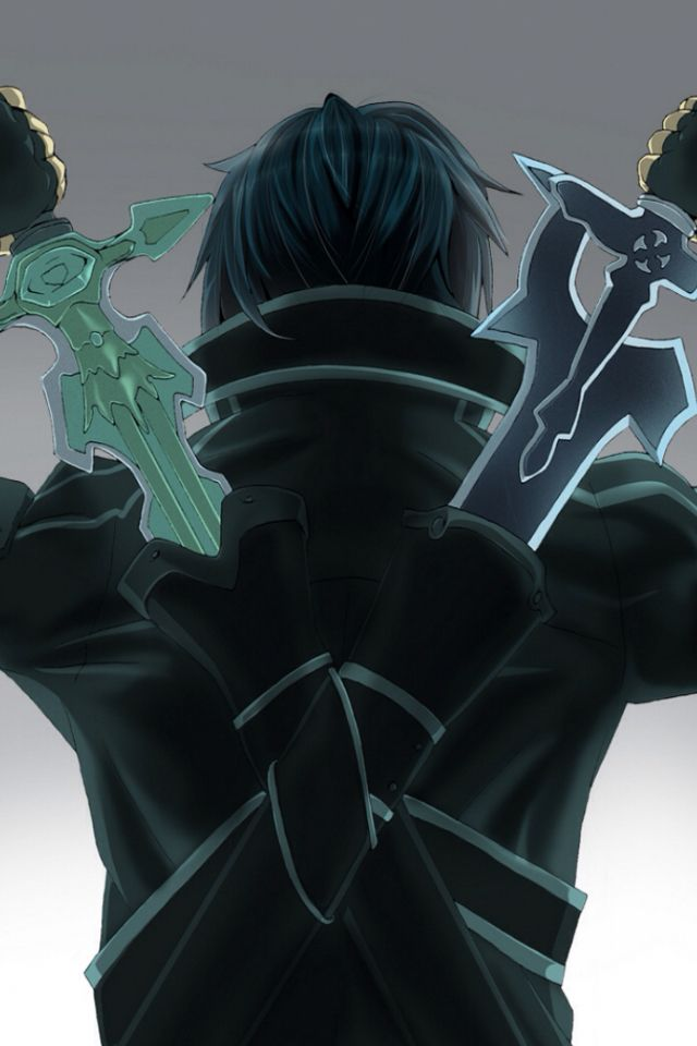 Kirito Iphone Wallpaper Wallpapersafari
