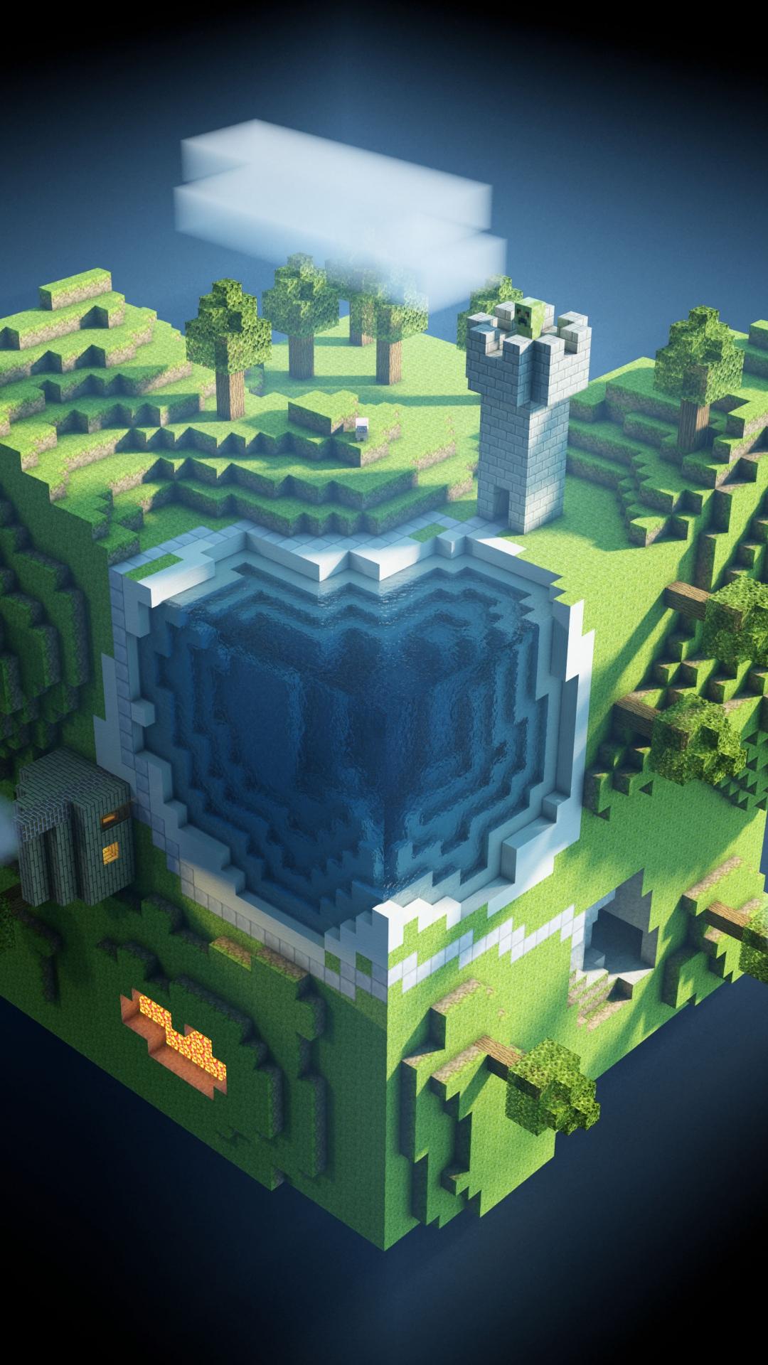 49 Minecraft Hd Phone Wallpapers On Wallpapersafari