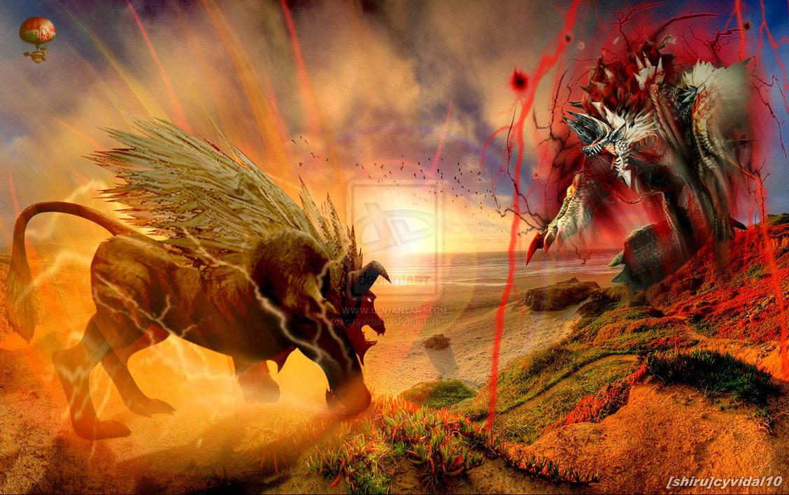 Monster Hunter 3 Ultimate Fan Art Monster hunter   ultimate 1128x708