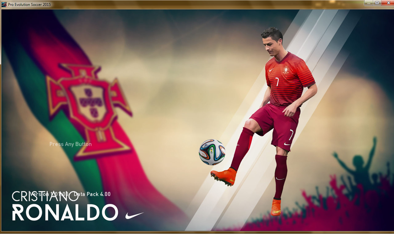PES 2015 C.Ronaldo StartScreenPack V0.1 Created By sepahan-pc.ir site