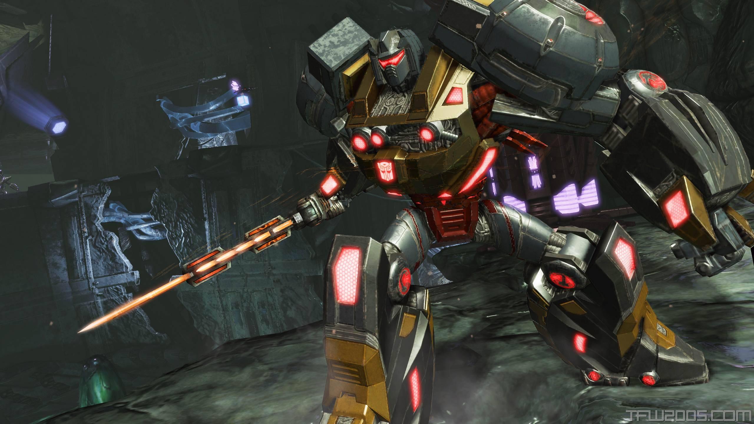 Grimlock Fall of Cybertron   Transformers Wallpaper 2560x1440