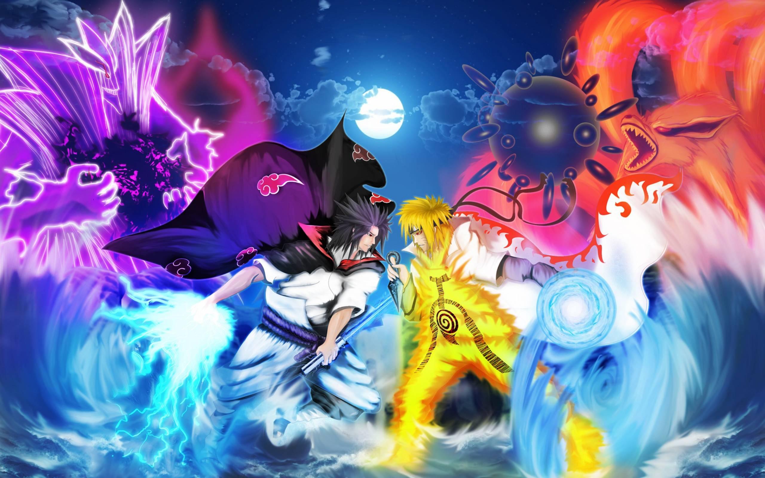 Naruto Vs Sasuke Wallpapers 2560x1600