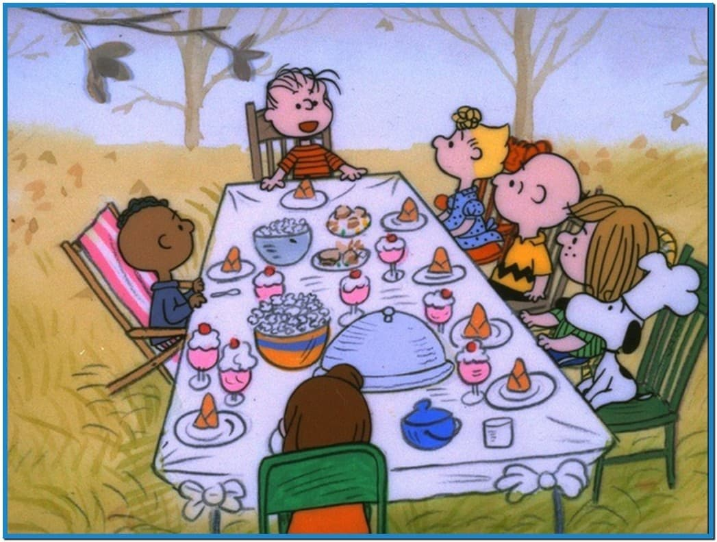 Charlie brown thanksgiving screensavers wallpaper   Download 1047x791