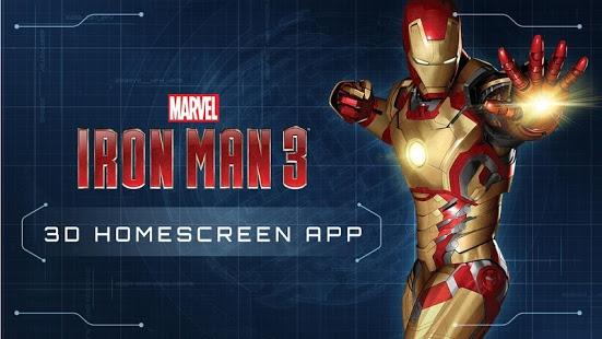 Iron Man Jarvis Live Wallpaper Iron Man 3 Live Wallpaper 551x310