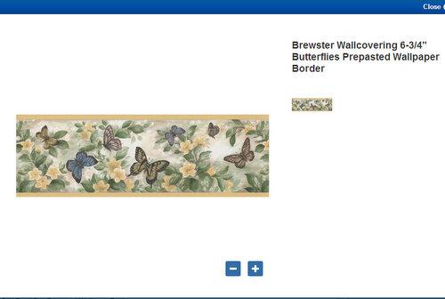 tan gardeners tea set wallpaper border kitchen bathroom wallpaperhtml 500x336