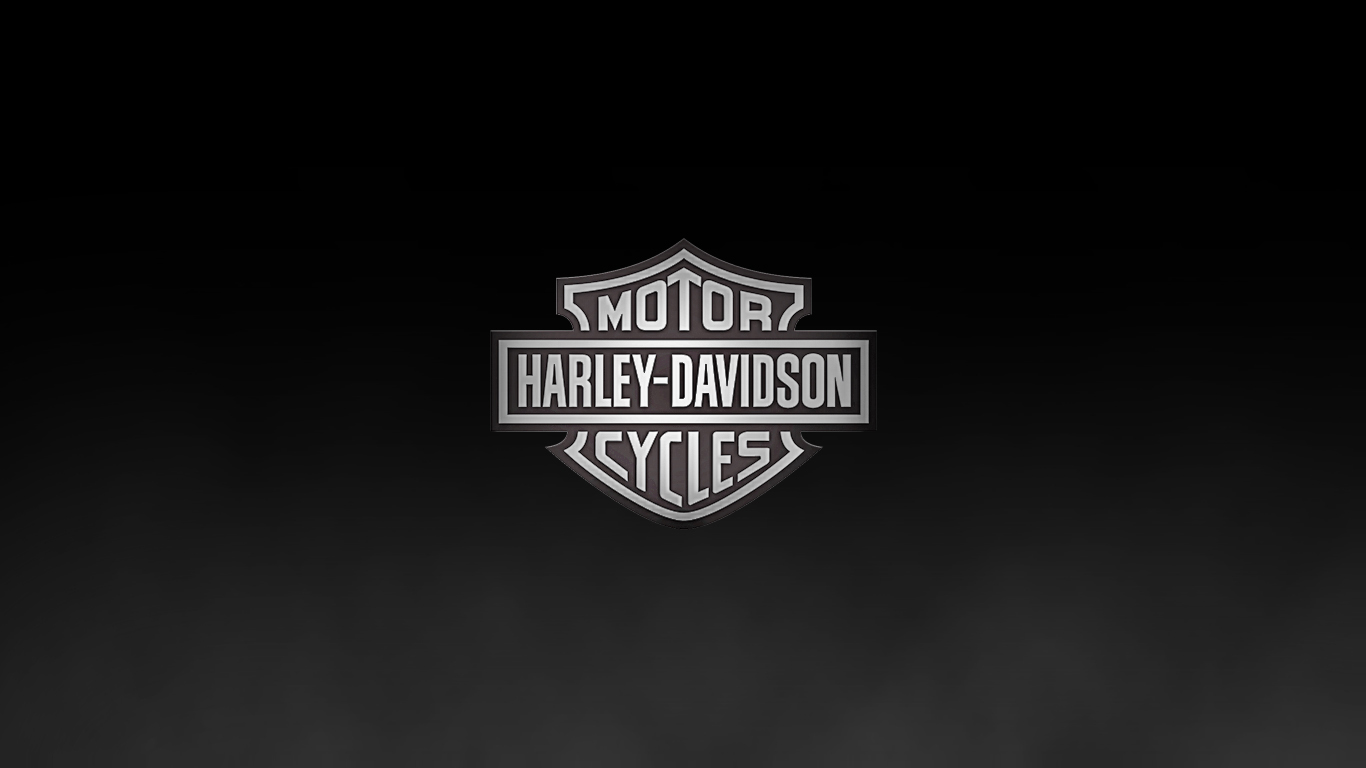 Harley Davidson Logo Wallpaper 7060 Hd Wallpapers in Logos   Imagesci 1366x768