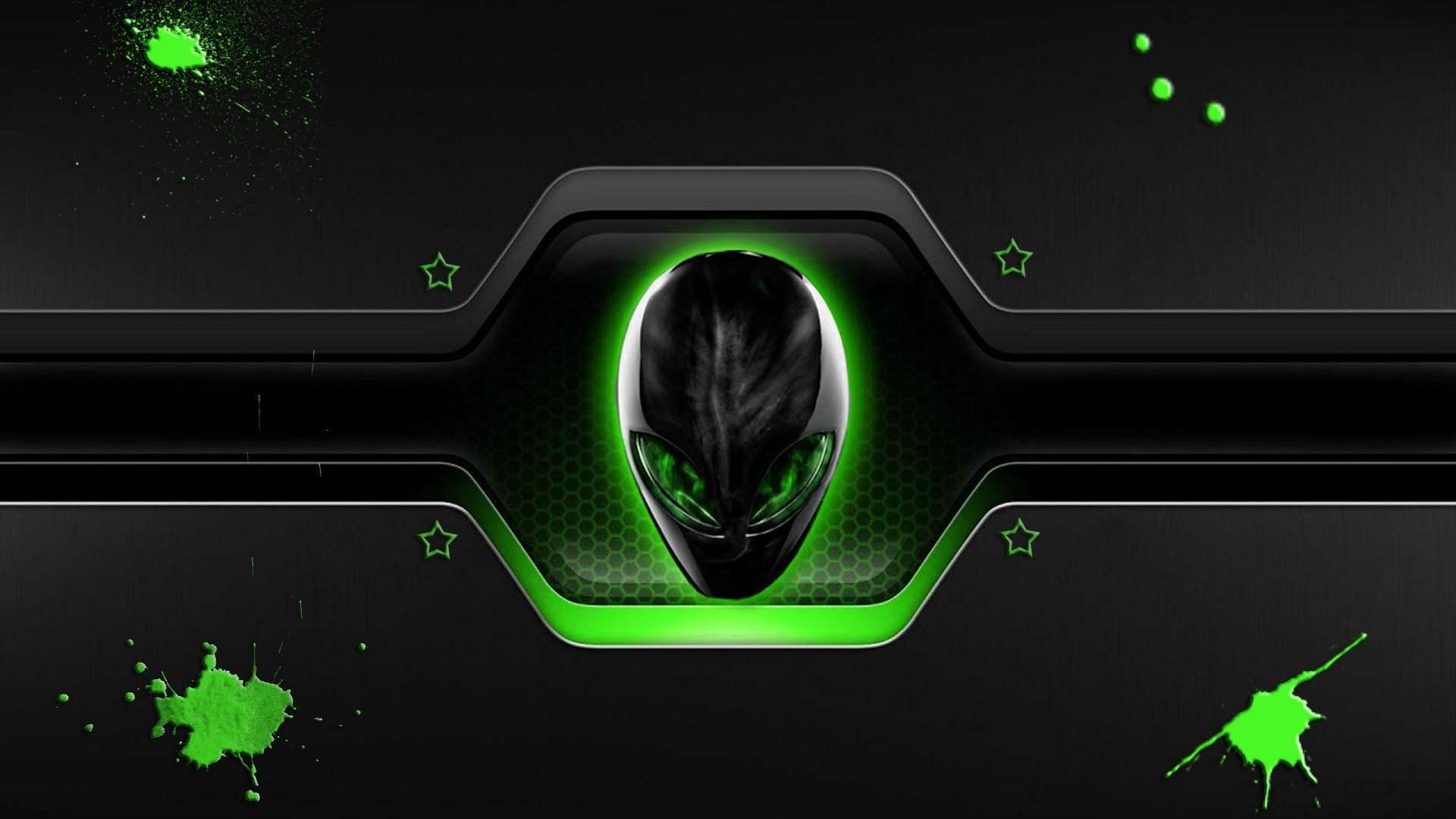 alienware green wallpaper wallpapersafari