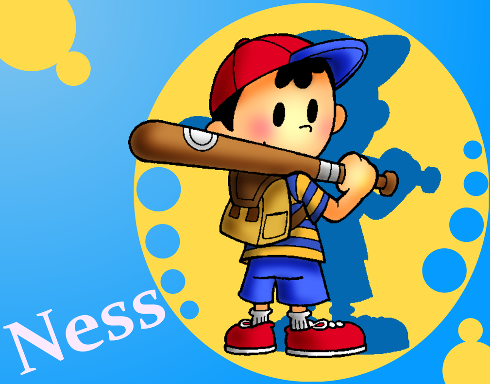 Earthbound Ness by SuperMarioFa 1009x792