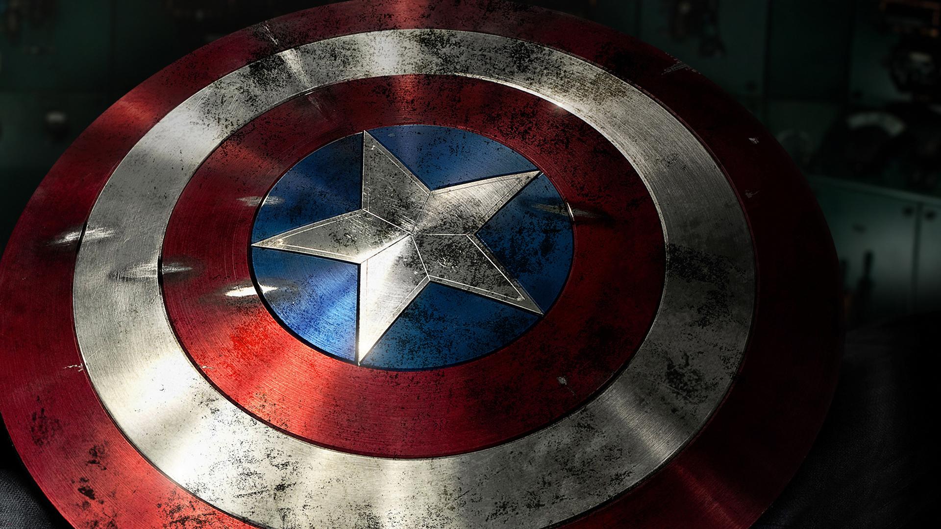 Captain America Shield Wallpaper HD 1920x1080