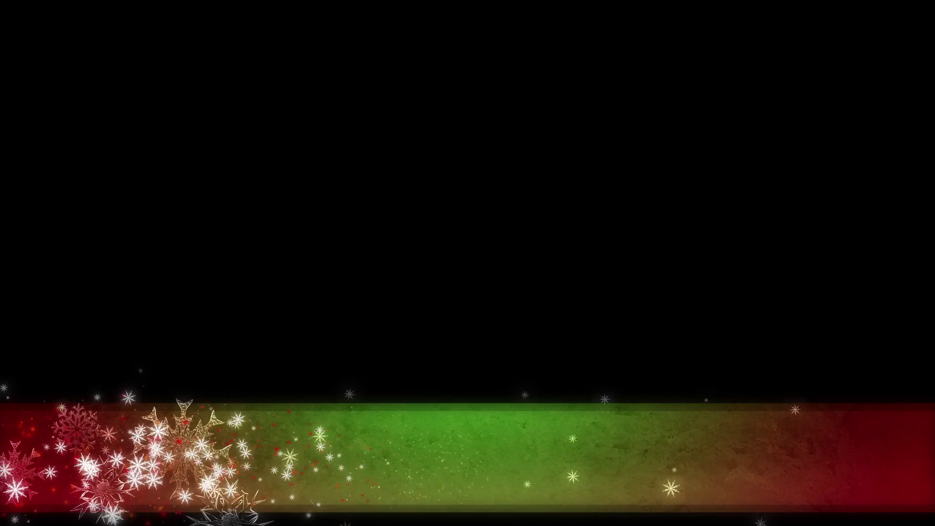Green And Red Christmas Background Lower Thirds Motion Background 1920x1080