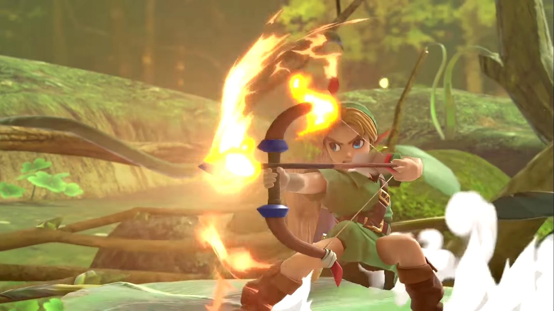 Smash Ultimate Young Link Guide Moves Outfits Strengths 1920x1080