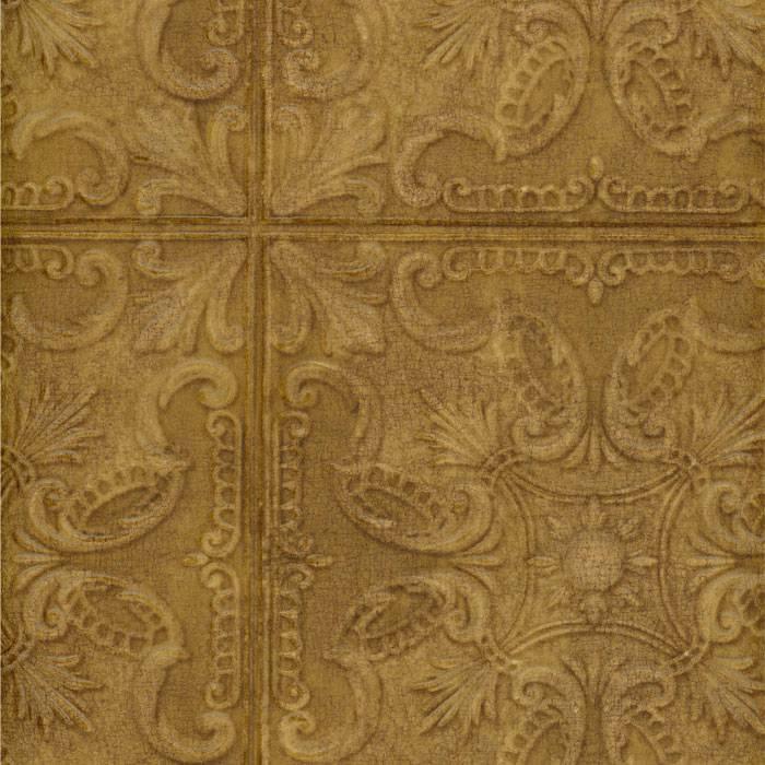 Tin tile wallpaper wallpapersafari - Can you wallpaper drop ceiling tiles ...