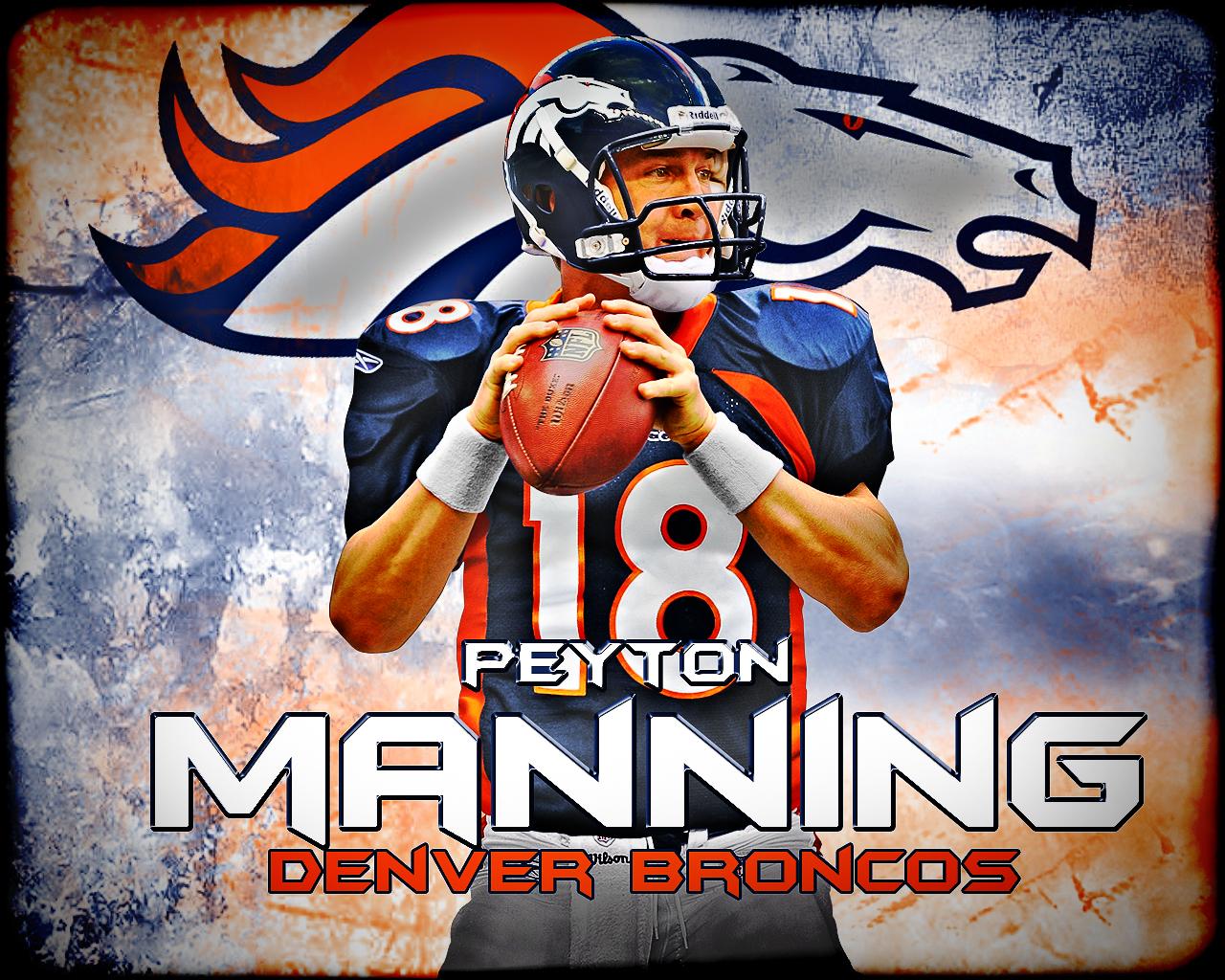 NFL Wallpapers Peyton Manning   Denver Broncos 1280x1024