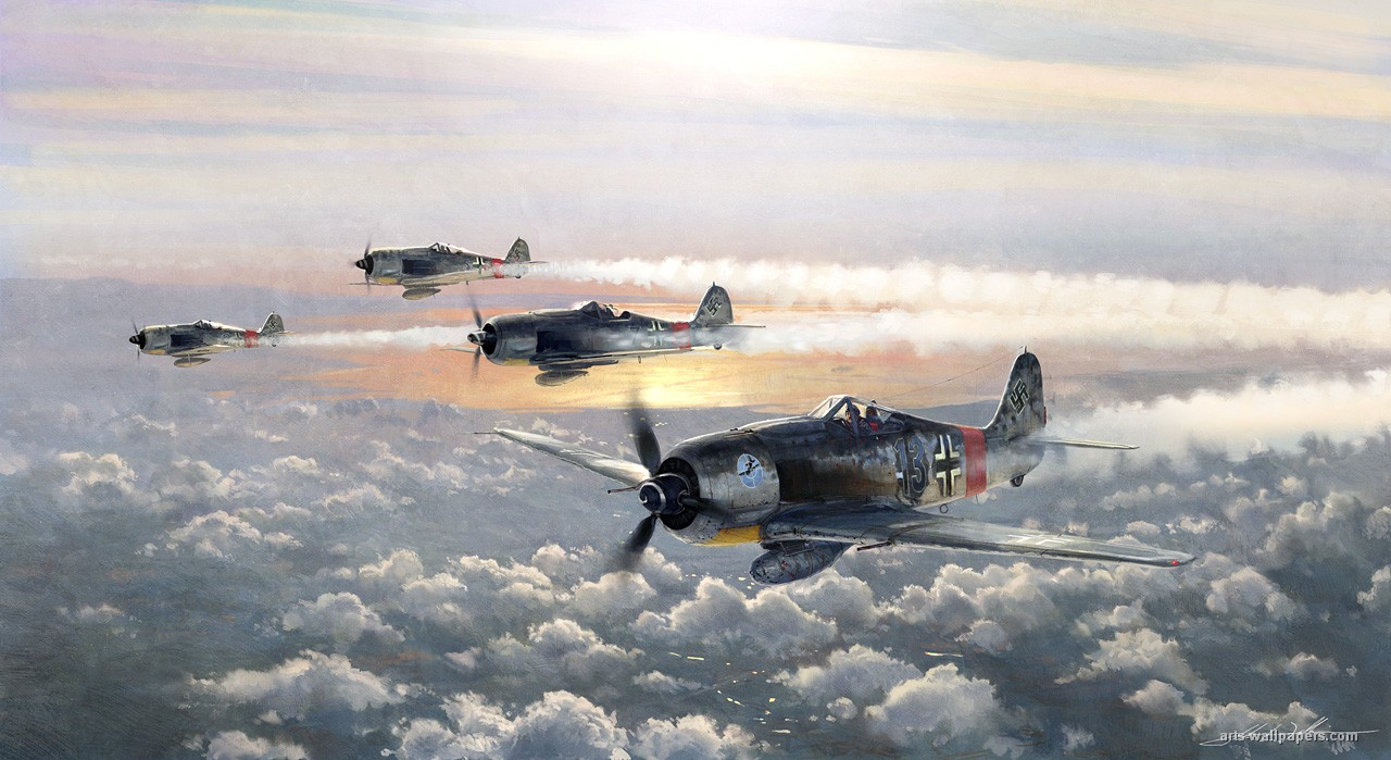 Wallpapers Airplane Painting Ar