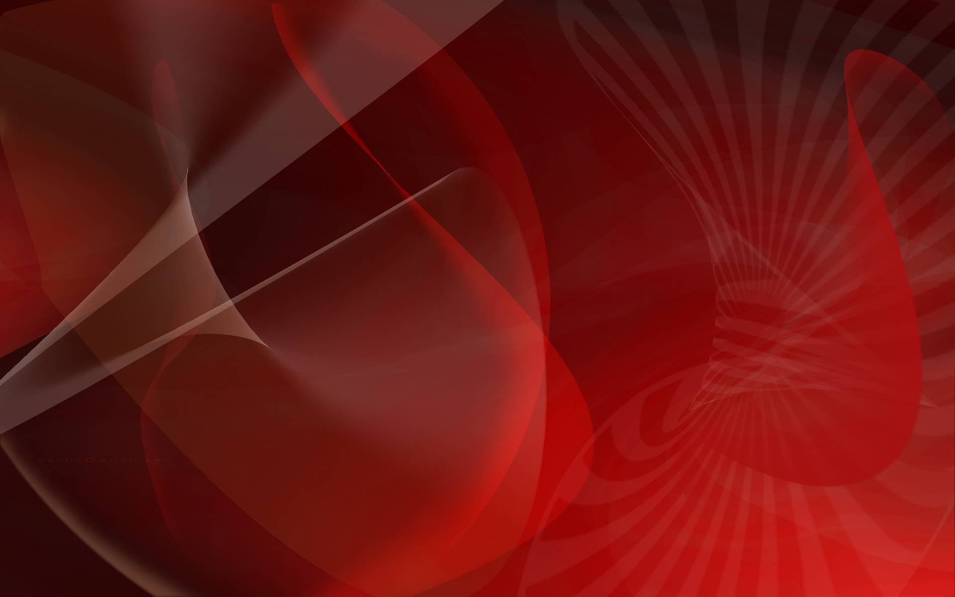 Red Abstract wallpaper - 688764