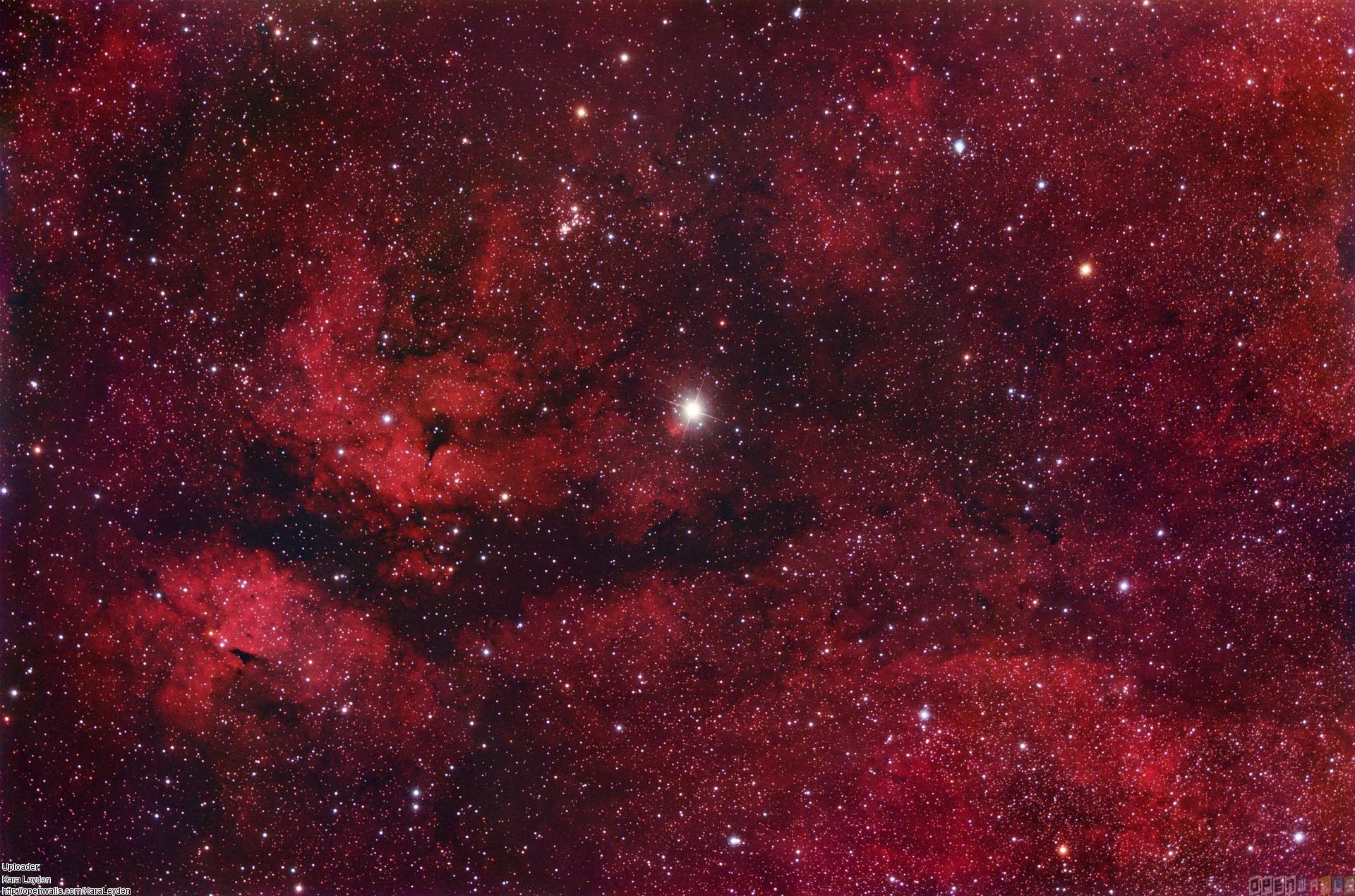 Red Space Wallpaper - WallpaperSafari