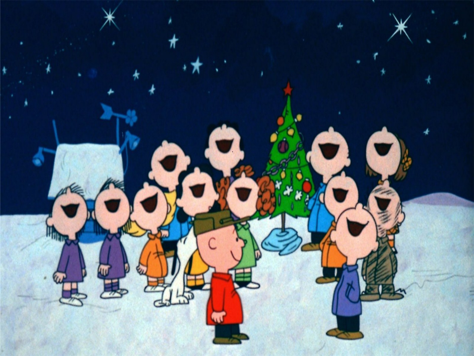 Charlie Brown Christmas Desktop Wallpaper   1600x1200   266266 1600x1200