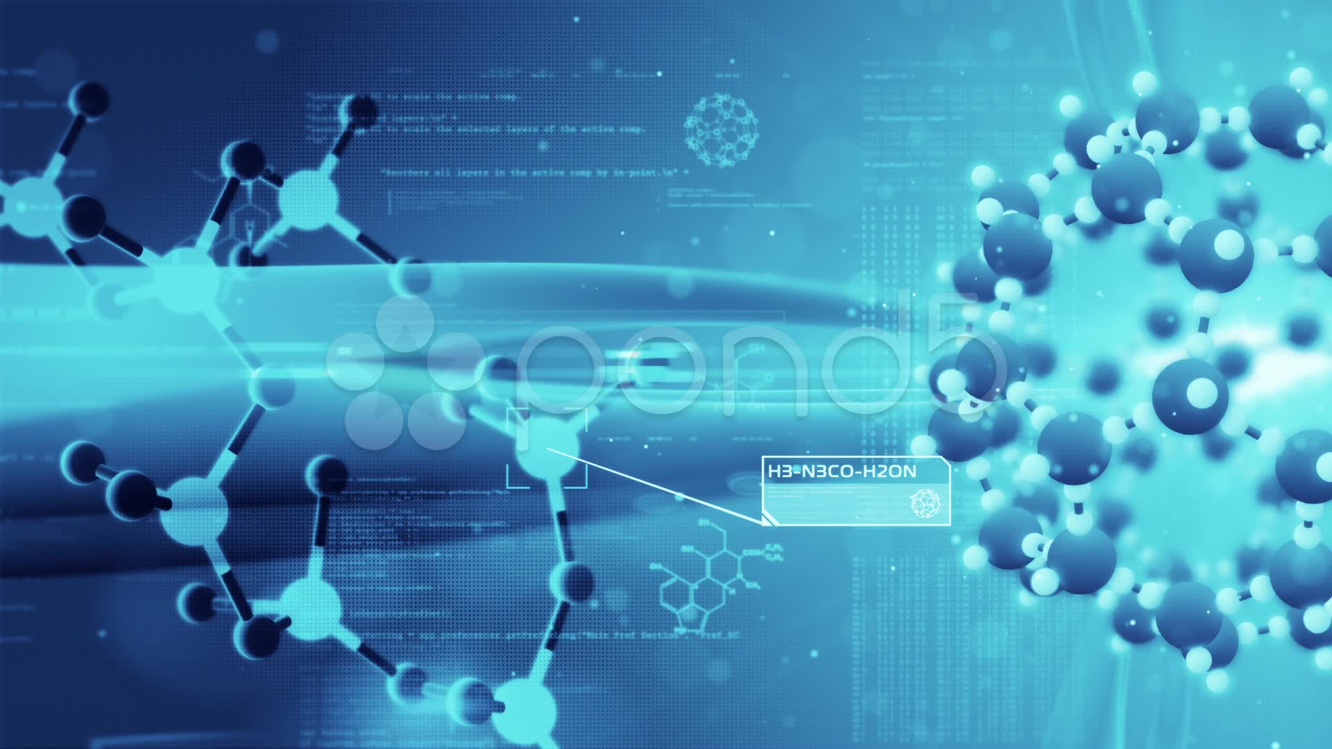 Structure Chemical Biology Stock Video 11495722 HD Stock Footage 1920x1080