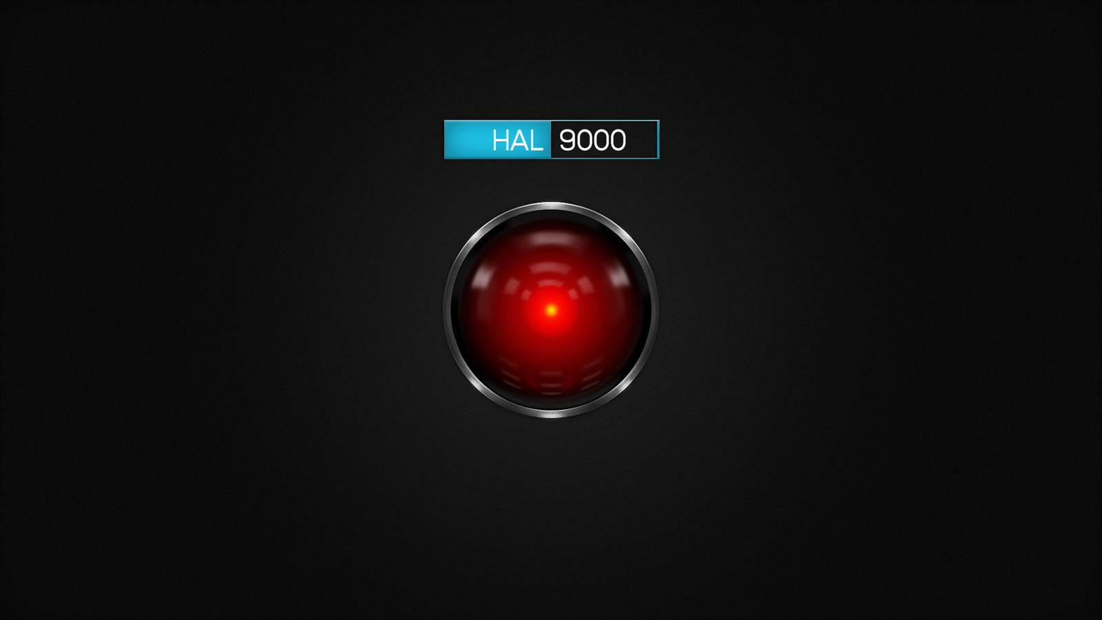 Hal 9000 HD Wallpaper