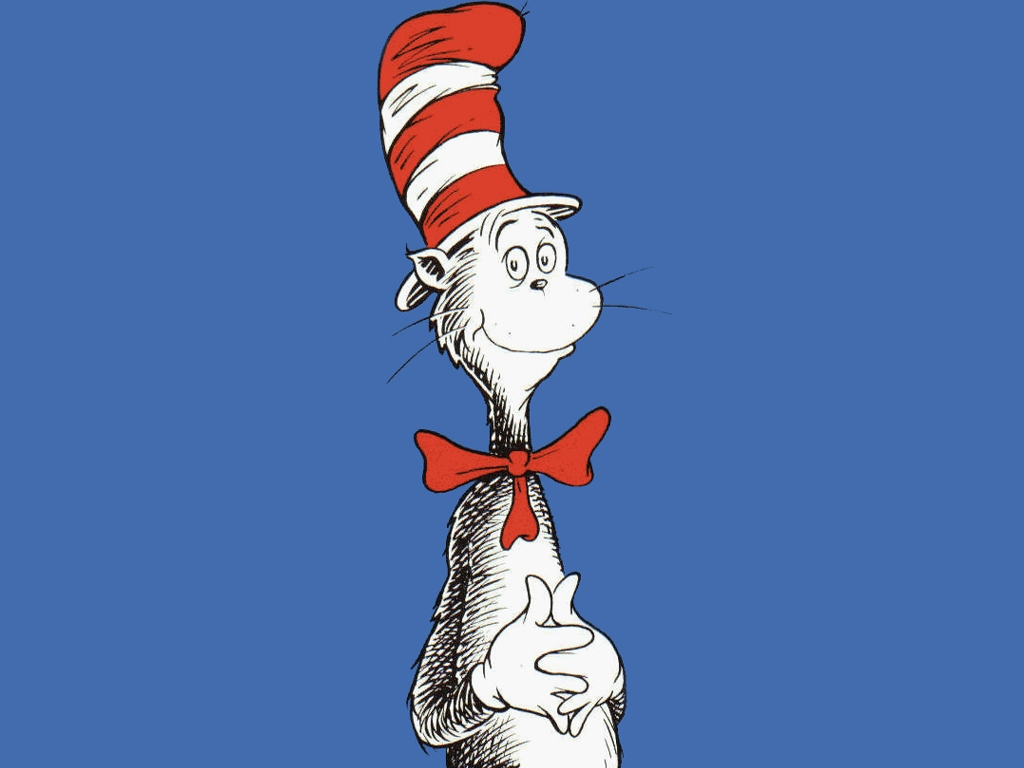 Cat in The Hat Wallpapers For PC 1024x768