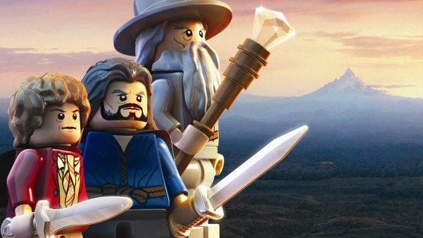 Wallpaper LEGO Le Hobbit sur PS4 PS3 PS Vita   Play3 Live 601x338