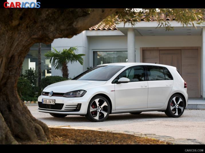 Volkswagen Golf GTI VII 2015   Front HD Wallpaper 7 1920x1080 716x537
