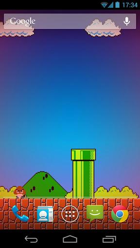 Mario Wallpaper Hd 8 Bit 8 bit live wallpaper 1003 288x512