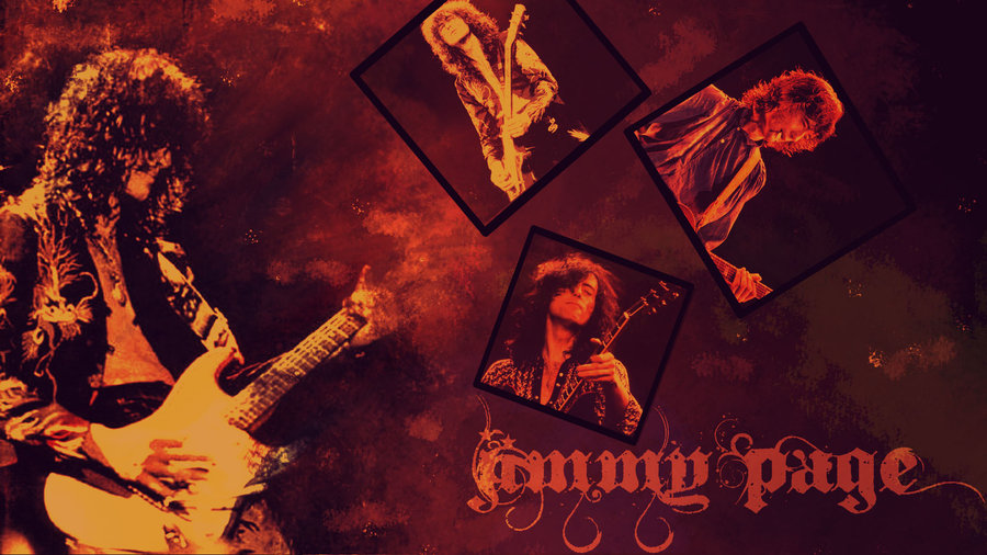 Jimmy Page Wallpaper by Rose13Valentine 900x506