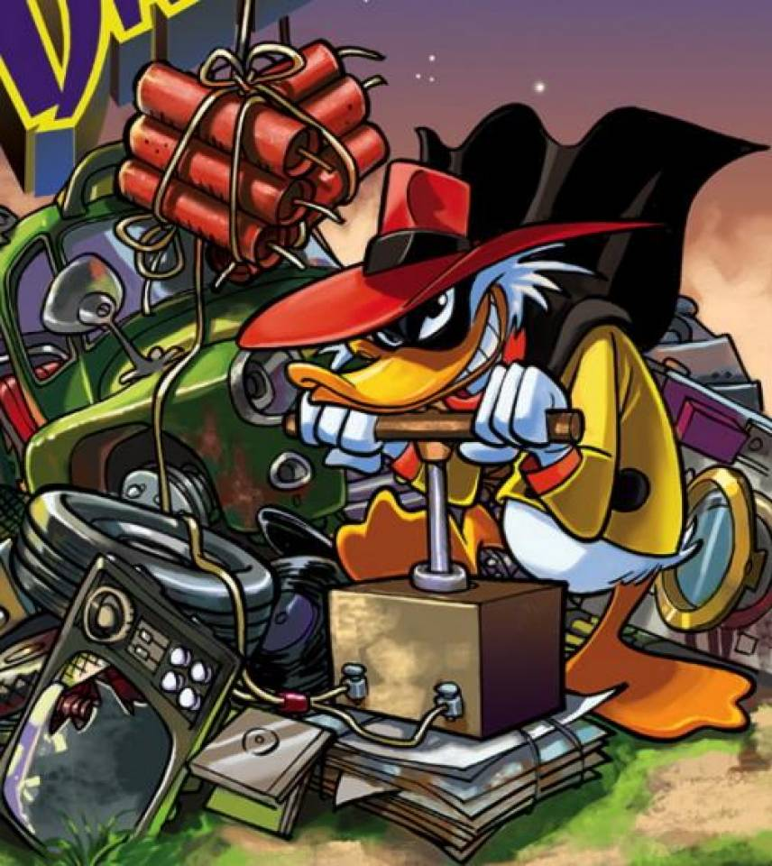 Negaduck screenshots images and pictures   Comic Vine 856x960