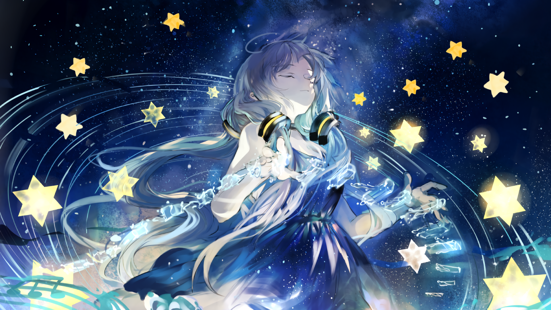30] Star Girl Desktop Wallpaper on WallpaperSafari 1920x1080