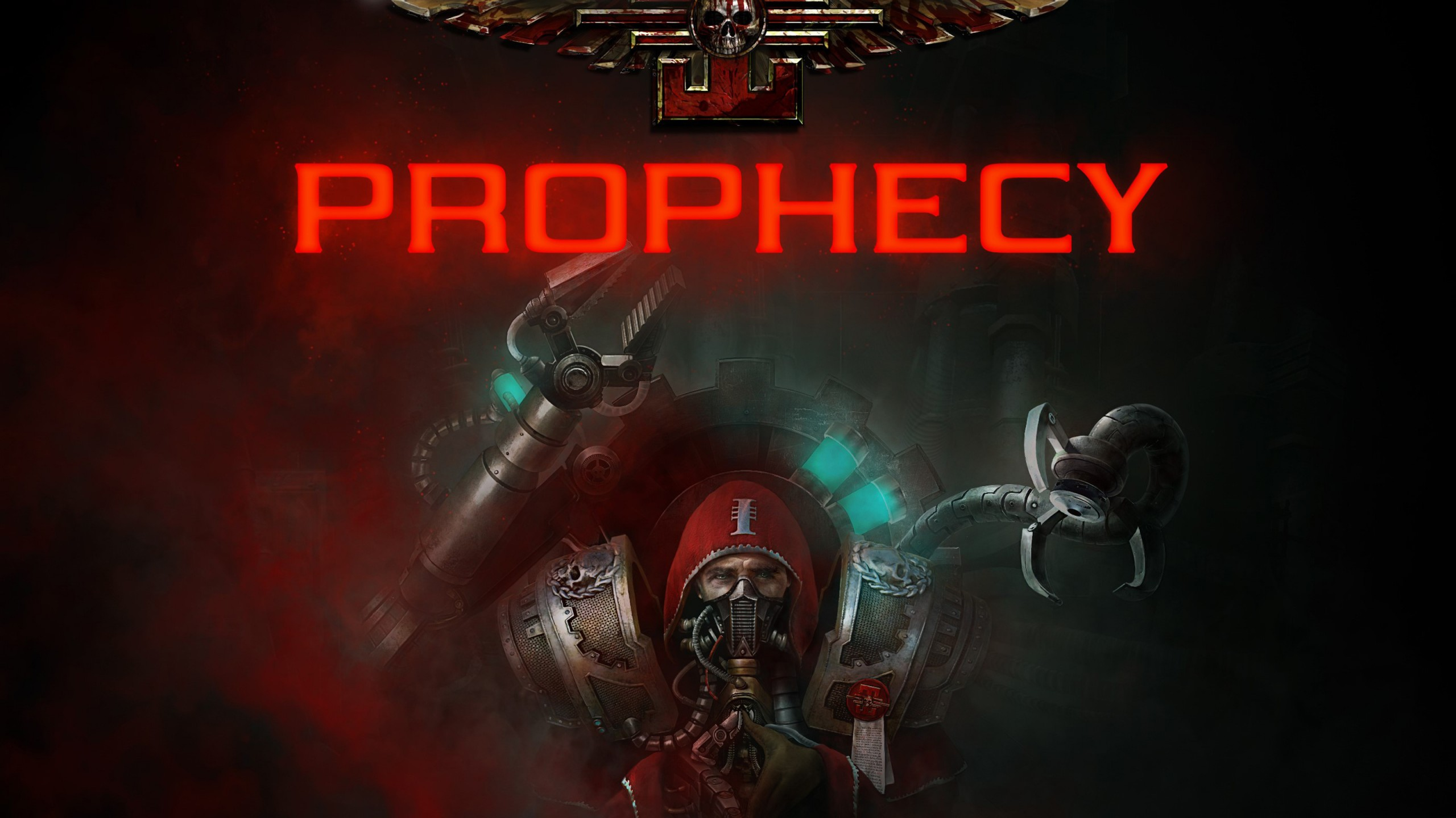 Wallpaper Warhammer 40K Inquisitor   Prophecy poster 4K Games 2560x1440