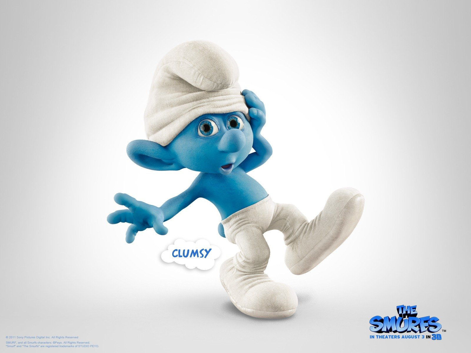 Smurfs Movie 3D HD Poster Wallpapers Download Wallpapers in HD 1600x1200