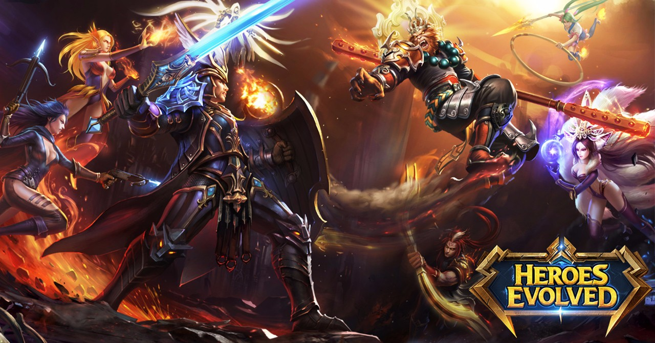Heroes Evolved Wallpapers 1280x670